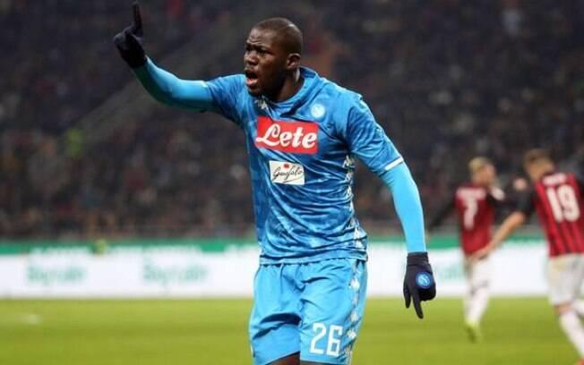 Kalidou Koulibaly foi alvo de racismo durante partida do Campeonato Italiano em dezembro de 2018