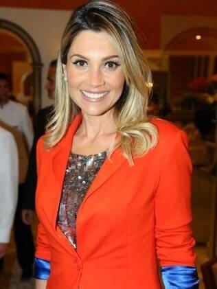 Flávia Alessandra em Brasília nessa quarta-feira (9)