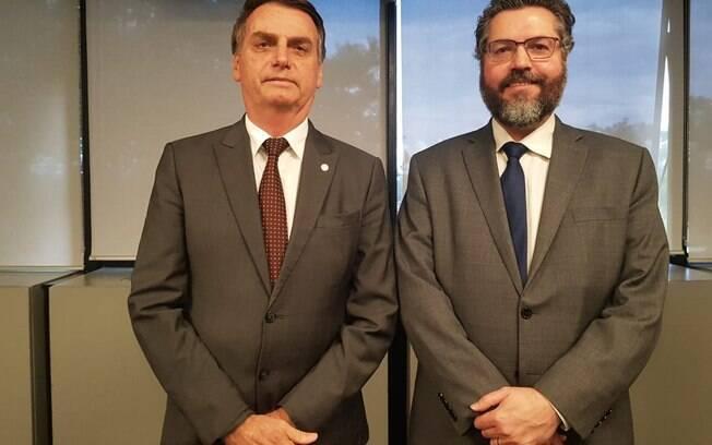Embaixador Ernestro Araújo foi anunciado hoje como o futuro ministro das Relações Exteriores de Bolsonaro