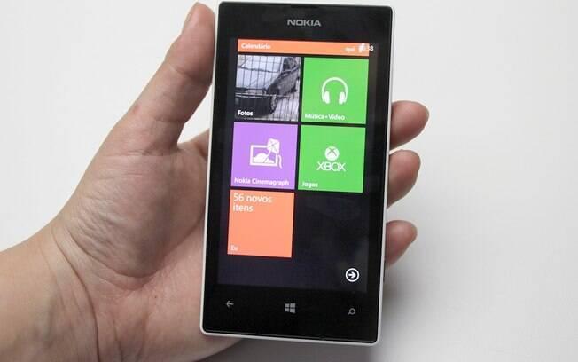 Lumia 520 é smartphone mais barato com Windows Phone. Foto  Stella Dauer d38eb8f0c5