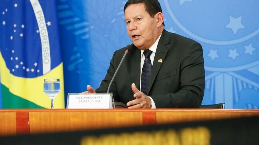 Vice-presidente, Hamilton Mourão (PRTB)