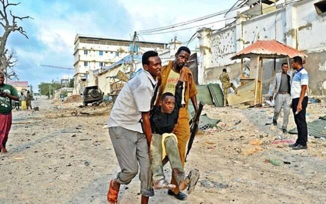 Mogadishu foi devastada por um ataque do Al Shabab este ano