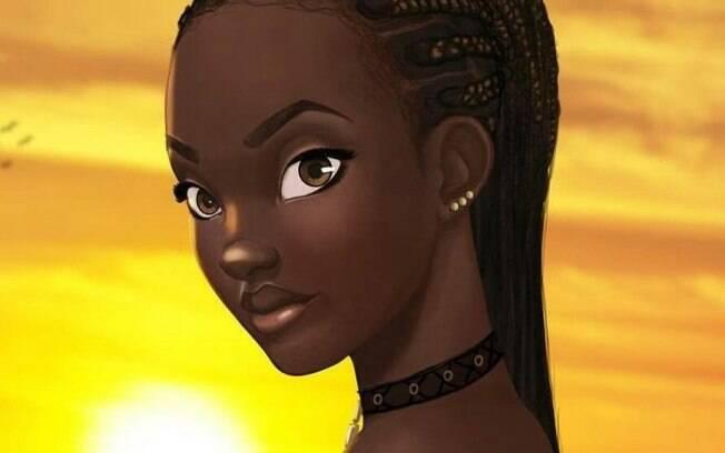 Sadé será a primeira princesa africana e a segunda princesa negra a protagonizar um longa-metragem da Disney
