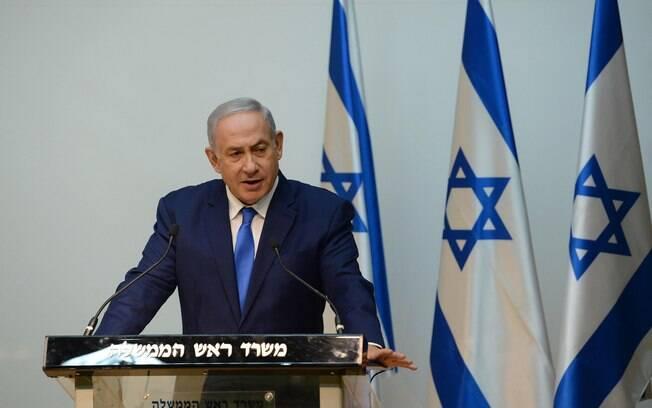 Premiê de Israel, Benjamin Netanyahu havia confirmado presença na posse presidencial de Jair Bolsonaro