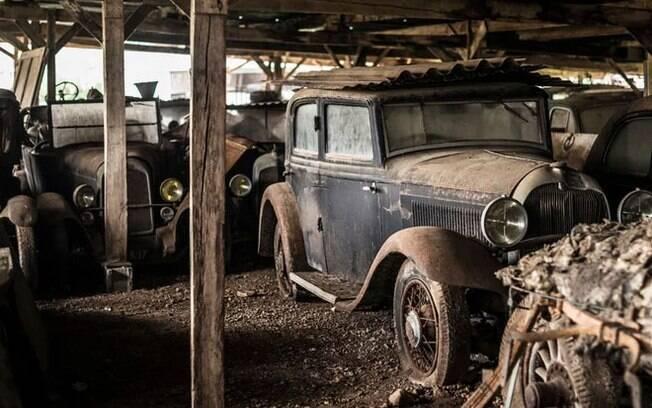 Que tal ganhar uma fazenda de herança? E descobrir que lá há US$ 17 milhões em carros antigos?