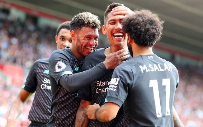 Roberto Firmino marcou na vitória do Liverpool