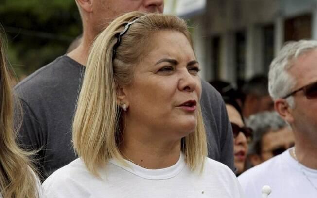 Ana Cristina Siqueira Valle, ex-mulher de bolsonaro