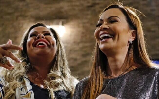 Kler Amaral e Solange Almeida