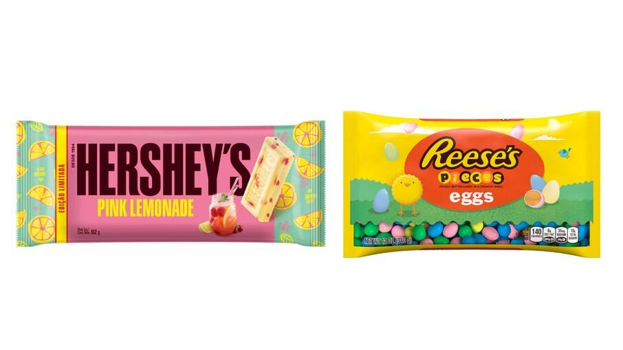 Hersheys e Reeses também trouxeram novidades para a Páscoa