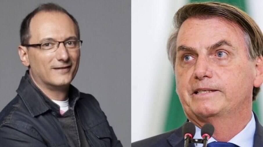 Britto Jr e Bolsonaro
