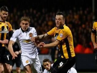 Manchester não conseguiu sair do 0 a 0 com modesto Cambridge, da 4ª divisão