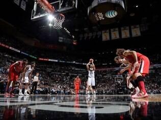 time de San Antonio possui a melhor campanha desta temporada na NBA