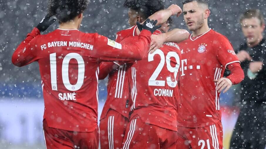 Bayern venceu o Hertha Berlim por 1x0