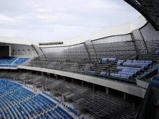 Faltam ainda muitos detalhes para a Arena das Dunas ficar pronta para a Copa do Mundo