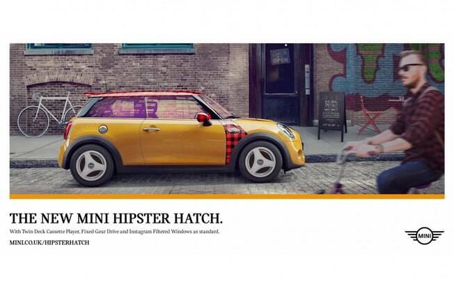 Mini Hipster, o compacto para quem quer ser alternativo.