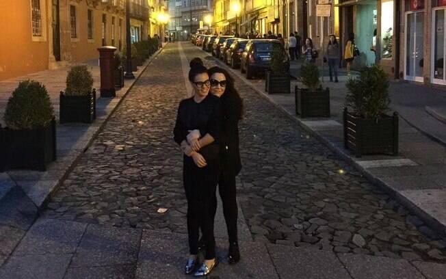 Ana Carolina e Letícia Lima mostraram que viajaram juntas para diversos lugares do mundo!