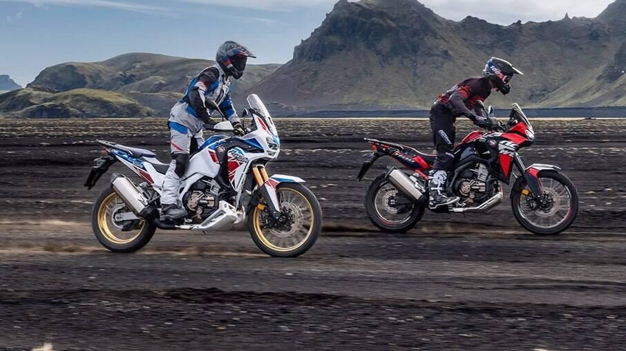 Africa Twin e Adventure Sports: as big-trails de maior sucesso da Honda, que lançou o modelo no Brasil em maio de 2021