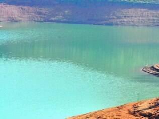 Efeitos. Represa Jaguari, em SP, com menos vazão, provocou esvaziamento de outros reservatórios