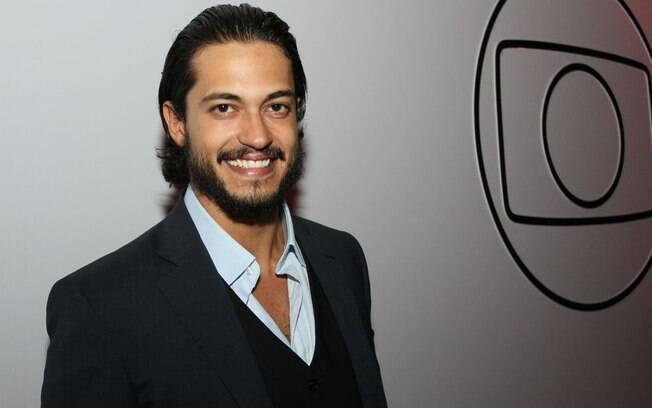 Raphael Viana na festa de lançamento da programação da Rede Globo