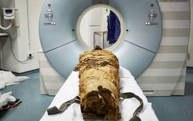 Estudo com múmia foi feito no Reino Unido