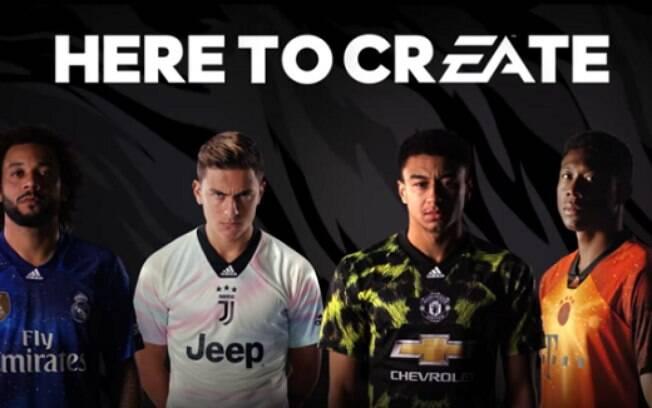 Adidas lançou linha especial de camisas de futebol para quatro clubes europeus