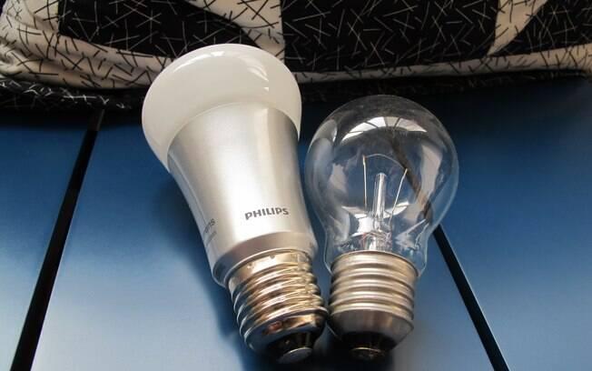 Cada lâmpada Hue consome 80% menos energia do que uma lâmpada tradicional. Foto: Emily Canto Nunes/iG São Paulo