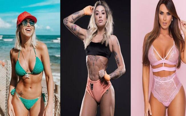 Carol Narizinho, Dani Bolina e Nicole Bahls