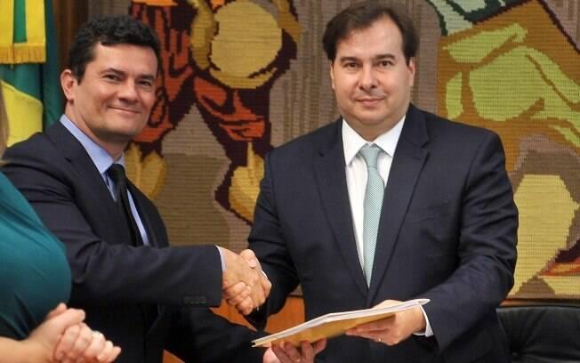 Rodrigo Maia desencorajou centrão a embarcar em uma CPI contra Sergio Moro