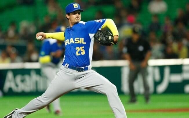 André Rienzo é um dos grandes nomes do beisebol brasileiro