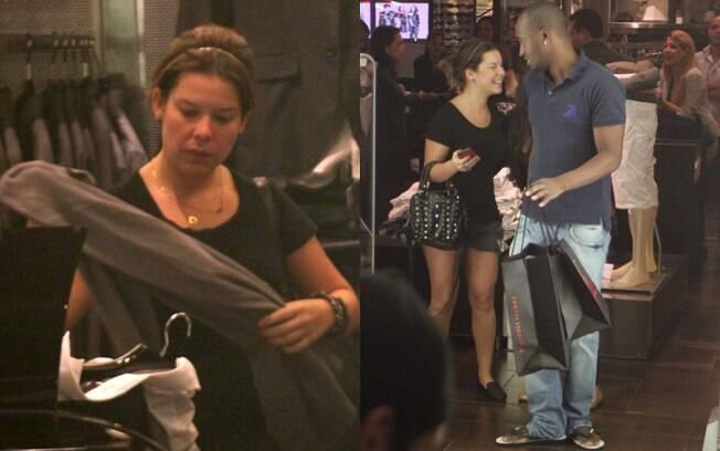 Fernanda Souza contou com a ajuda do namorado, Thiaguinho, para escolher suas roupas