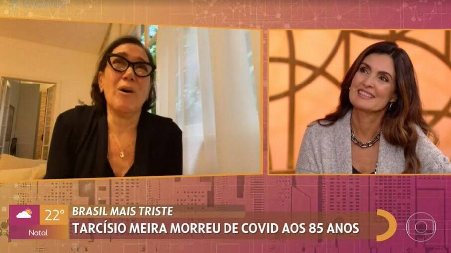 Lilia Cabral se emociona ao homenagear Tarcísio