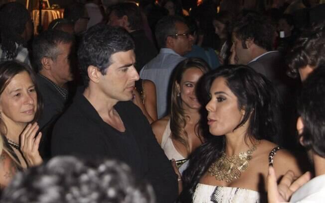 Reynaldo Gianecchini conversou com fã na noite dessa quarta-feira (06)