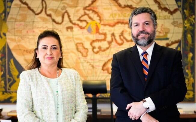 Chanceler foi duramente criticado após fala sobre a senadora Kátia Abreu