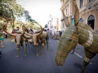 CIDADES. BELO HORIZONTE, MG.  Festival Cultural de Minas Gerais.  FOTO: LINCON ZARBIETTI / O TEMPO / 07.06.2014