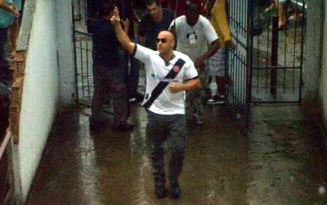 Vin Diesel usou a camisa do Vasco