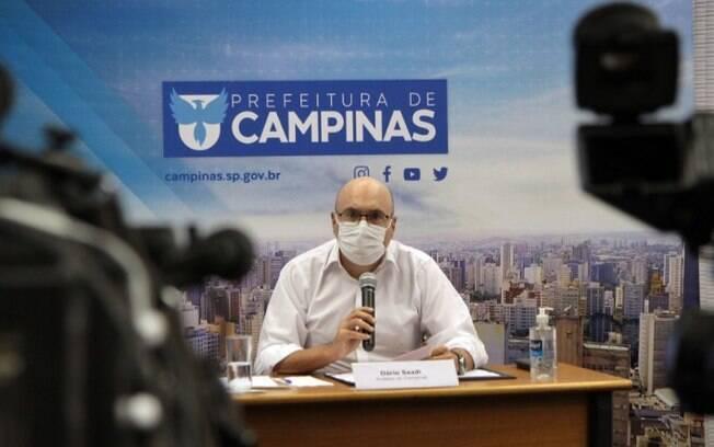 Dário faz live hoje sobre medidas da pandemia de covid-19 em Campinas