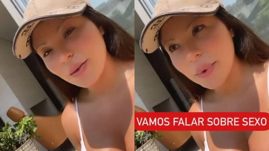 Andressa Ferreira pede para fãs lavarem partes íntimas antes do sexo