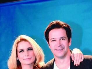 Dupla. Claudia Abreu e Murilo Benício formam o casal de protagonistas do novo folhetim das sete da Globo