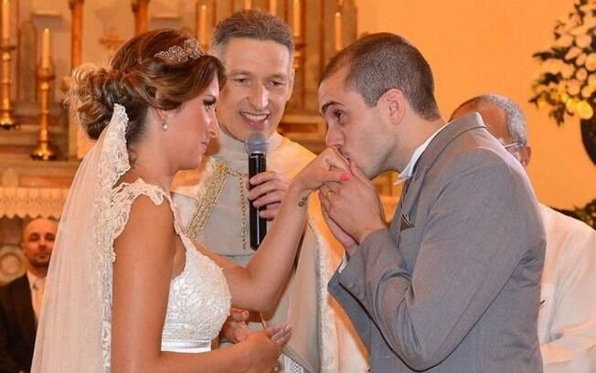 Luara casou-se com o empresário Bruno Queiroz