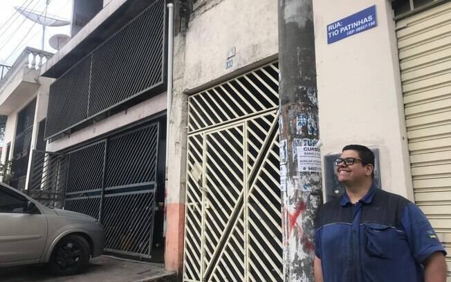 Fernando Ridão mora e trabalha na Tio Patinhas, mas  garante que