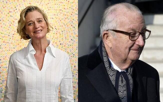 Após sete anos de batalhas judiciais, escultora conseguiu ser reconhecida como filha do ex-rei da Bélgica