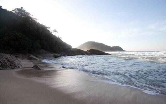 Praia do Cachadaço, em Paraty