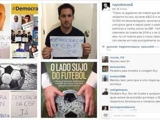 Ruy Cabeção quer greve nas quatro divisões do futebol brasileiro