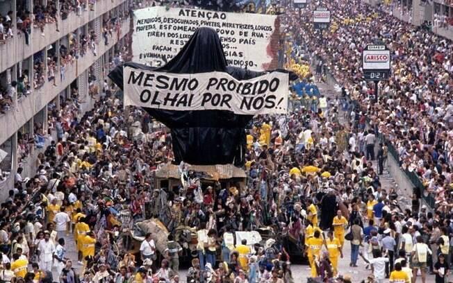 Em 1989, Joãosinho Trinta marcou a história da Beija-Flor com o enredo