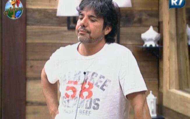 João Kleber em 'A Fazenda'