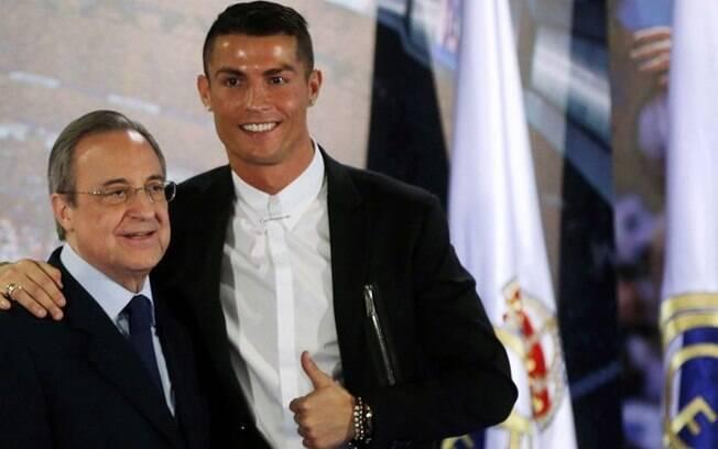 Em entrevista de Cristiano Ronaldo na France Football, o jogador comentou sobre relação com Florentino Perez