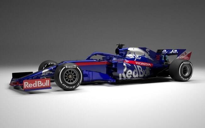 Carro da Toro Rosso para a temporada 2019 da Fórmula 1