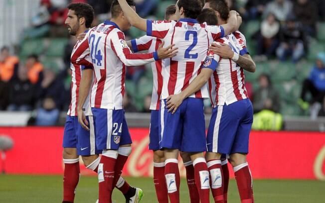 Atlético de Madrid desbancou Barcelona e Real Madrid e foi campeão espanhol em 2014.