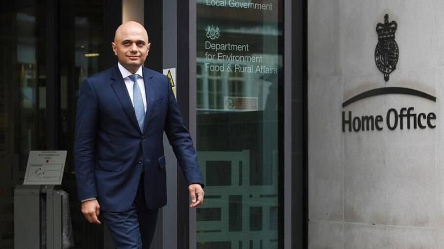 Sajid Javid é o novo ministro da Saúde do Reino Unido