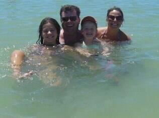 Miche, o marido, Emerson, e as filhas: 'Elas são seguras, sabem expressar seus sentimentos, deixar claro do que gostam e do que não gostam'